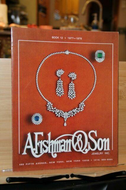 A. Fishman & Son NY Book 12 1977 78 Jewelry Jeweler ...