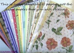 Huge-Lot-250-Sheets-12x12-034-Scrapbooking-Paper-Vellum-Choose-Mixed-Design-Asian