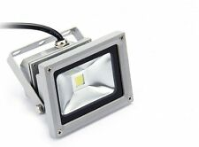 10W LED Outdoor Flood Light White Focus Waterproof 240V 50,000 Hours Long Life.