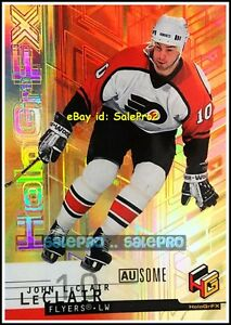 UD-HOLO-GRFX-1999-JOHN-LECLAIR-NHL-PHILADELPHIA-FLYERS-RARE-AUSOME-GOLD-44