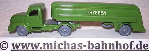 Thyssen Thyssen Thyssen Semi-Remorque de Ravitallement Magirus autour Hauber Imu 1 87 75 HH1 Å e2a82a