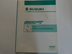 1996 suzuki swift electrical wiring diagram shop manual factory oem image is loading 1996 suzuki swift electrical wiring diagram shop manual asfbconference2016 Image collections
