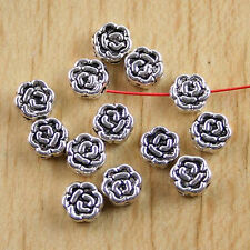 5pcs tibetan silver color round 24mm wide charms EF2230