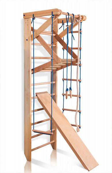 Escalera madera Escalera Sueca Gimnasio Espaldera de Fitness Madera de Juegos