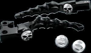 Kuryakyn BLACK Zombie Brake /& Clutch Levers for 2008-2016 Harley FLH /& FLT 1091
