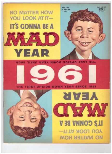 Mad Magazine #61 1961 EC Comics VF/NM 9.0