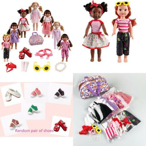 American Girl Doll Clothes Accessories for 14inch 14.5 inch Wellie Wishers Willa