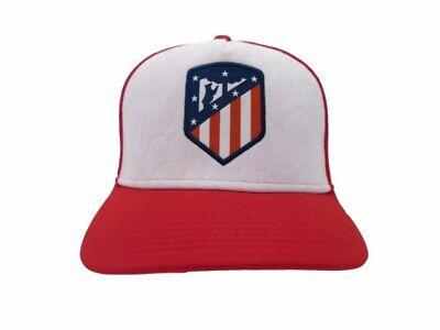 Realistico Cappello Atletico Madrid Visiera Baseball Originale Ufficiale Atm Adulto 58 Cm In Molti Stili