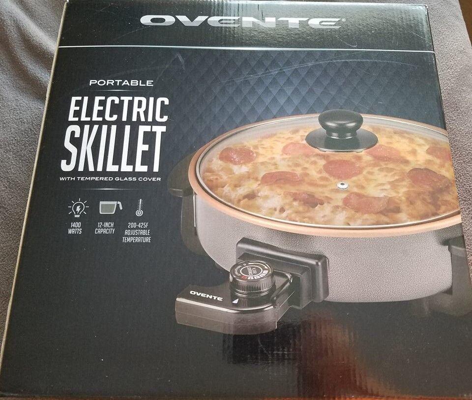 2 OVENTE électrique Poêle pizza Makers, NEUF appareils libre nous Livraison