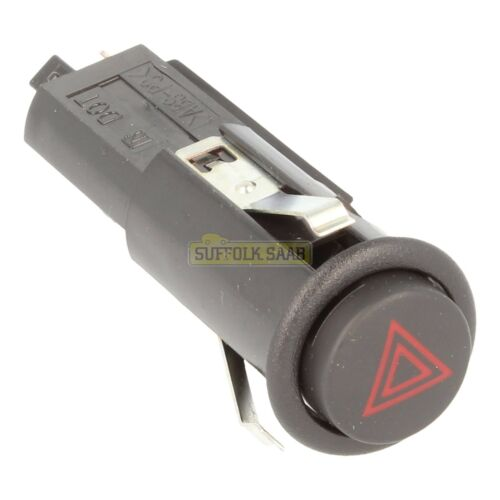 SAAB NG900 94-98MY HAZARD WARNING LIGHT SWITCH 4109526 BRAND NEW GENUINE SUFFOLK