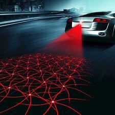 Car Auto LED Laser Fog Light Anticollision Taillight Rear Brake Warning Lamp Set