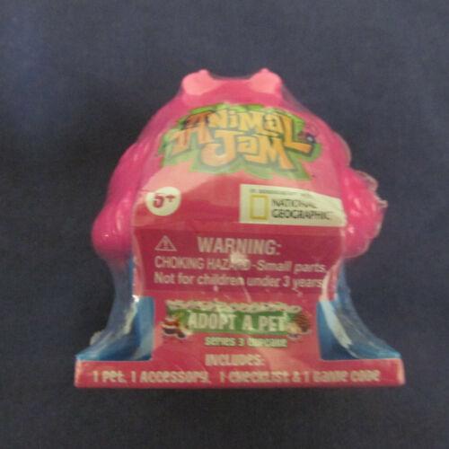 New Animal Jam adopter un animal Series 3 Cupcake Blind Box collectbl jouet rose bleu 5+