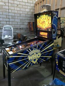Dr Who Pinball Machine Fully Working Serviced Bally