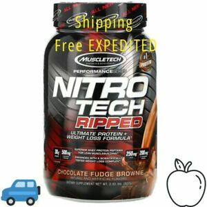 Muscletech Nitro-Tech Ripped Protein & Weight Loss Formula 2 LBS Chocolate