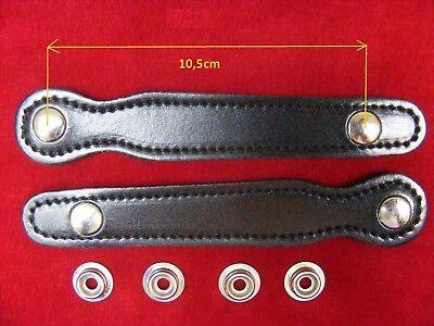 2stück Neues Disign Für Balgzughalter 10,5cm/balgriemen/accordion Bellows Straps Preisnachlass