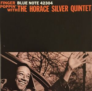 HORACE-SILVER-FINGER-POPPIN-CD-BLUE-NOTE-RVG-2003-1ST-CLASS-FAST-DISPATCH
