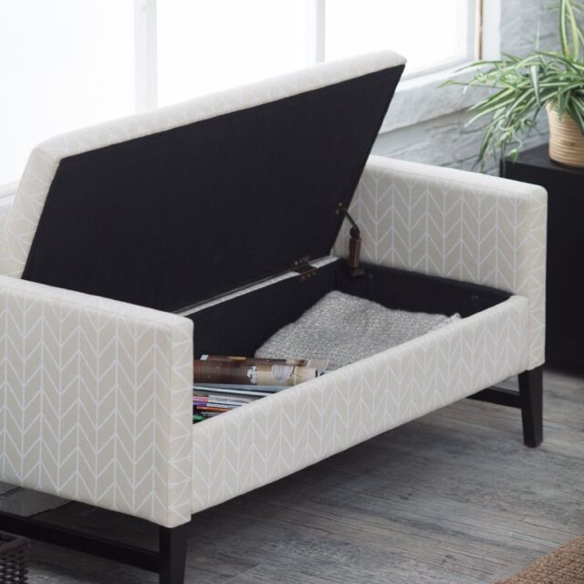 Backless Storage Bench End Of Bed Entryway Bedroom Modern Upholstered Furniture