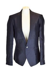 Klein 38r Medium Blazer It Blu scuro Uk 48r Calvin M Pqwfa0df