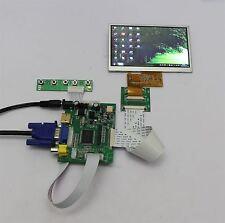 View Monitors+5Inch Lcd Display At050tn33 Hdmi+Vga+2Av+Rear 480×272 Tft J