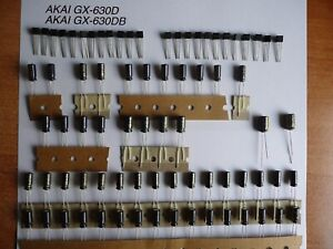 Reparatursatz Audio Board AKAI GX-635DB DOLBY oder GX-636DB DOLBY Repairkit