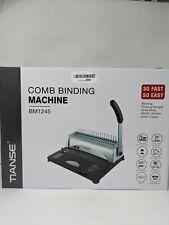 Binding Machine 21 Holes 450 Sheets Comb Binding Machine With Starter Kit 100
