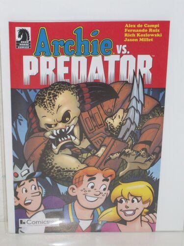 ALEX DE CAMPI  F Ruiz ARCHIE vs PREDATOR Rare ComicsPro Ashcan DARK HORSE