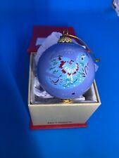 Pier 1 Imports Li Bien Wedding Doves Heart Christmas Ornament 2018 NIB