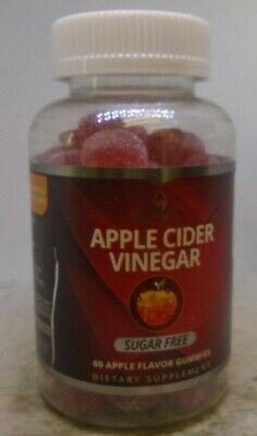 BeLive Apple Cider Vinegar Gummies Sugar Free Strawberry