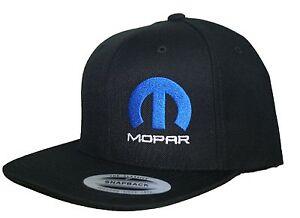 Image is loading Mopar-hat-cap-flat-bill-snapback-Dodge-Hemi- 90ac5a0bba0