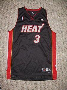 sports shoes d68f7 dc6b6 Details about 2006 Miami Heat Dwyane Wade Black Adidas Swingman Jersey 3XL  New!