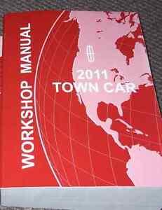 2011 lincoln town car manual