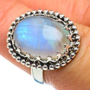 Rainbow-Moonstone-925-Sterling-Silver-Ring-Size-6-75-Ana-Co-Jewelry-R46545F