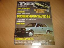 AJ N°16 1985 Porsche 944 Turbo.BX 19 TRS/305 GTX