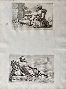François Perrier Egypt Antike Mythologie God Neilos Nile Sphinx Füllhorn 1638