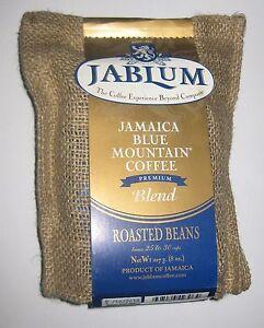 Jamaica Blue Mountain Coffee beans blend Jablum 8 oz