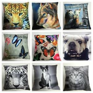Luxury-Designer-PRINTED-CUSHION-COVER-Pillowcase-45X45CM-18-034-x18-034-HUGE-RANGE