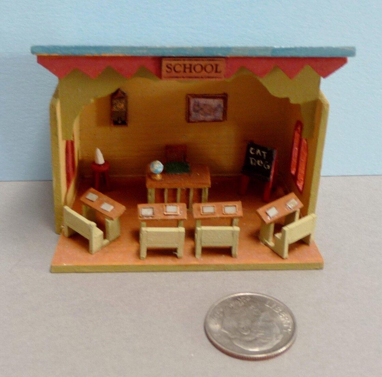 descuento de ventas en línea Adorable Adorable Adorable 1 120 pulgadas Escala Miniatura Sala de la escuela  perfecto