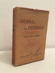 Henri Duhamel Giornale di Un Spretato Romanzo Parigi 1899