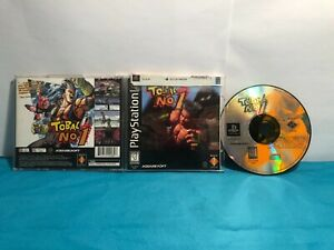 Tobal No. 1 SONY PS1 2nd print RARE