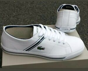 Boys Girls Leather Trainers Size UK