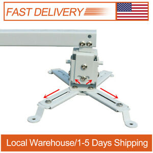 Projector Bracket Mount For Epson Benq Projector Adjustable Height Ceiling Stand Ebay