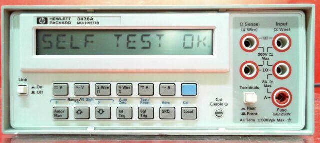 HP 3478A 5.5-Digit Digital Multimeter - Fully Tested