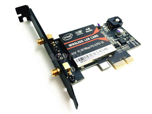 1200AC PCI-E Wifi Wireless Adapter Bluetooth 4.2 for Intel 8265 AC Network Card