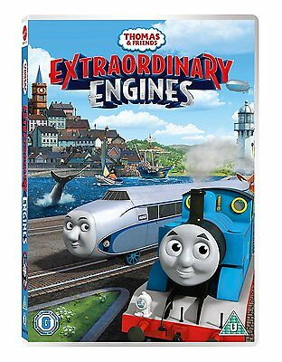 Thomas & Friends Extraordinary Engines - NEW DVD