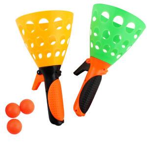 Double Flip Toss Throw/&Catch Scoop Ball,Family Kindergarten Kids Game Toy Ball!!