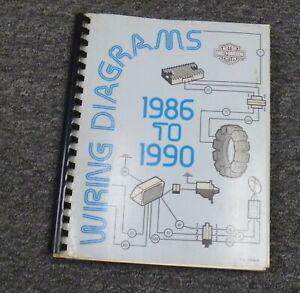 1987 Harley Davidson Softail Motorcycle Electrical Wiring Diagrams Manual |  eBayeBay