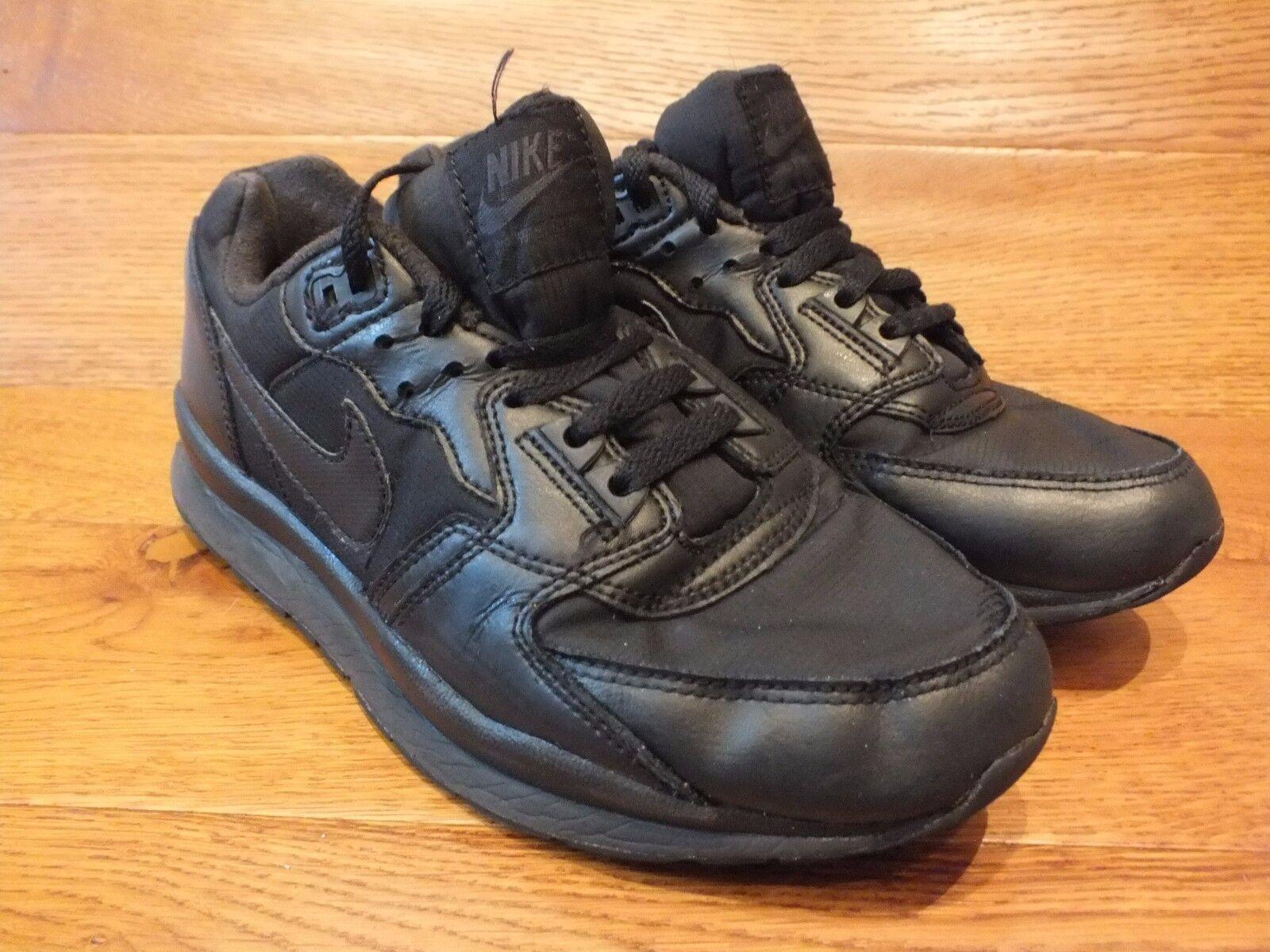 Nike Air Coursevent Baskets 2 Noir Baskets Coursevent Décontractées Taille UK 7 EU 41 9c59e1