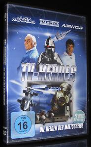 DVD-TV-HEROES-BUCK-ROGERS-KAMPFSTERN-GALACTICA-AIRWOLF-3-FILME-NEU