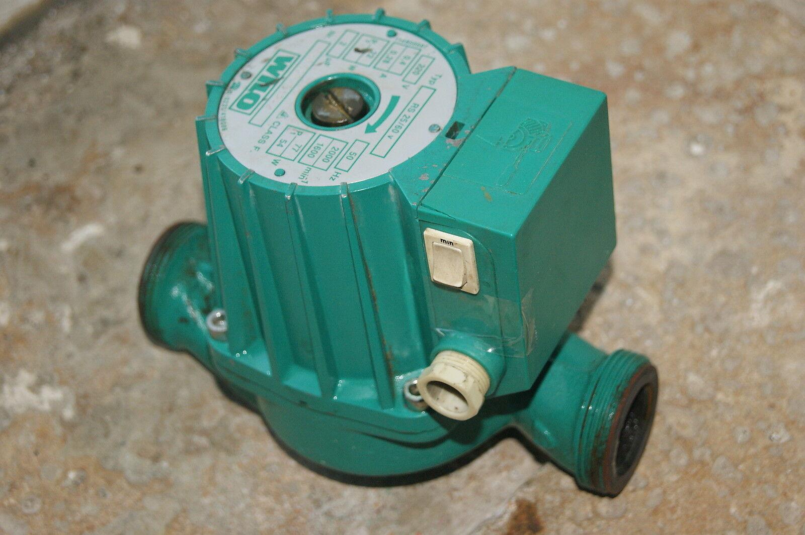 Pompe de de de chaudiere circulateur WILO RS25 60v 180 2 vitesses (22) 07d6ce