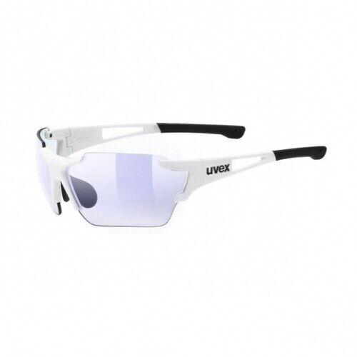 Uvex Sport Style 803 Race VM Weiß variomatic Rahmenlose Sport Lunettes de soleil